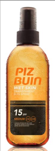 Wet Skin Piz Buin